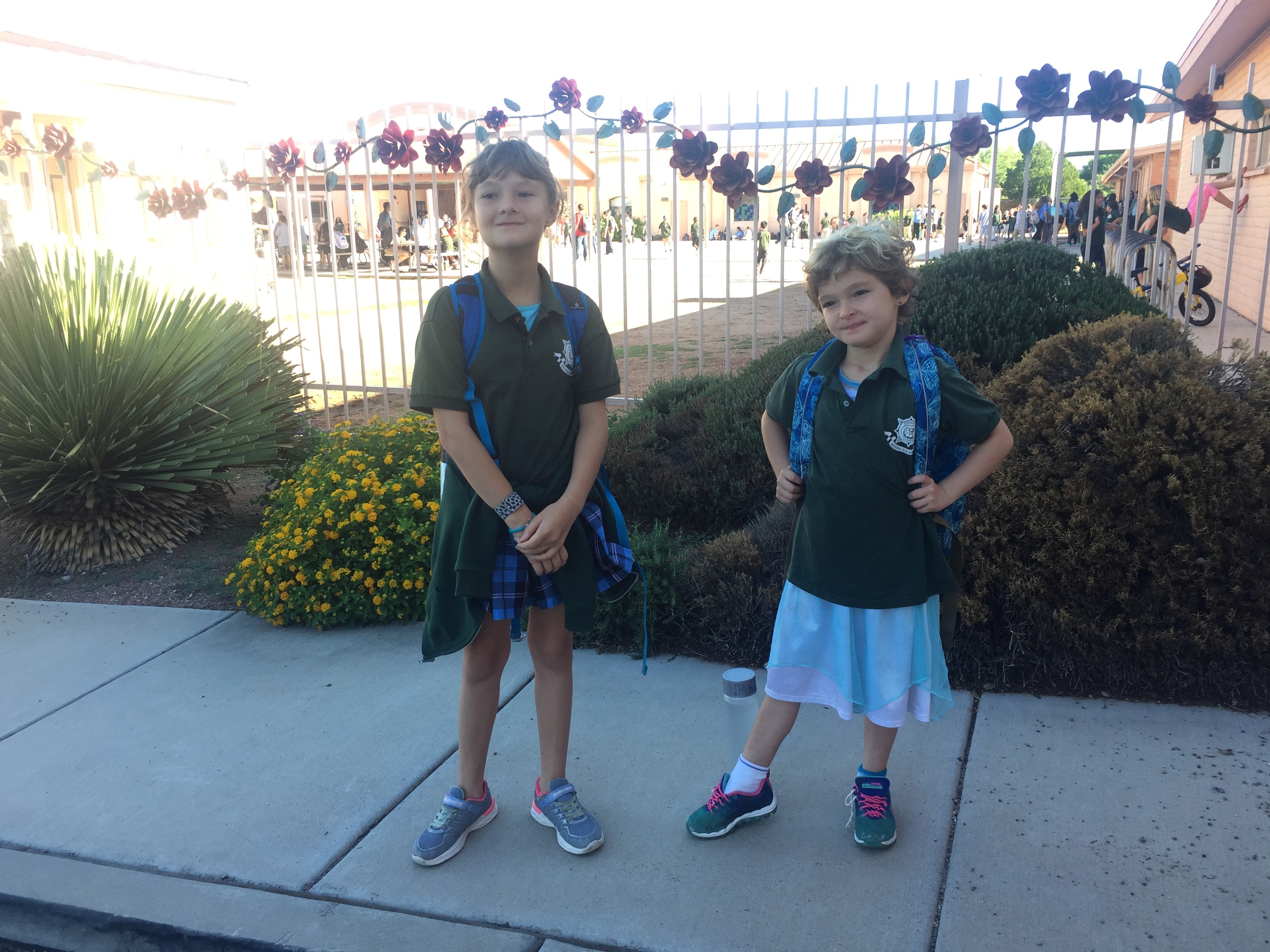 Kirin & Darla Back at School
